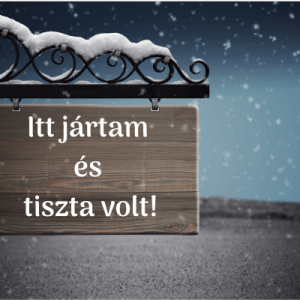 Read more about the article Legyél Te is Tisztaságnagykövet!